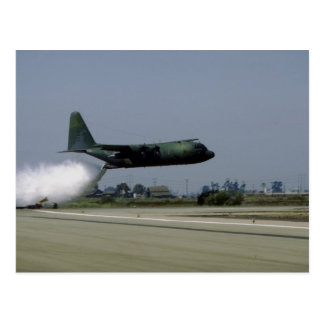"Lockheed C-13 ""Hercules"", water drop Postcard"