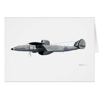 "Lockheed EC-121 Warning Star ""Triple Nickel"" Card"