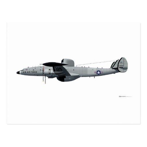 "Lockheed EC-121 Warning Star ""Triple Nickel"" Post Card"