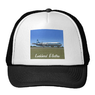 Lockheed Electra Airliner Mesh Hats