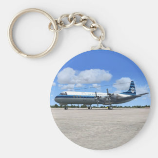 Lockheed Electra Airliner Keychains