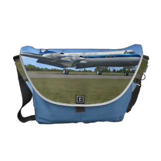 Lockheed Electra Airliner Messenger Bag