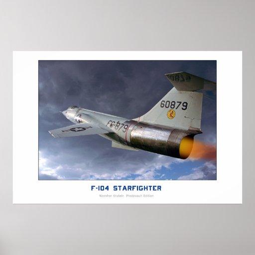Lockheed F-104 Starfighter Print