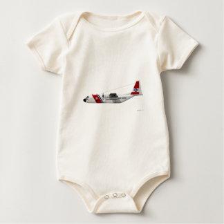Lockheed HC-130 Hercules Coast Guard Baby Bodysuit
