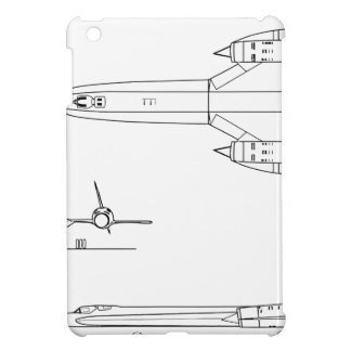 Lockheed_YF-12A_3view Case For The iPad Mini