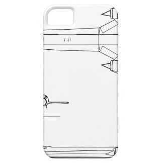 Lockheed_YF-12A_3view iPhone 5 Cover