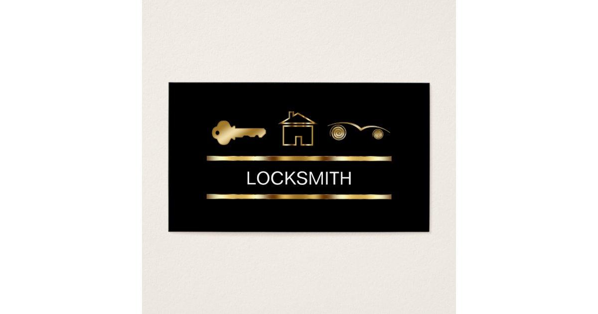 Locksmith business cards zazzlecomau for Locksmith business cards