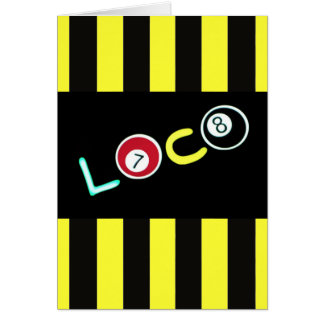 Loco $2.45 stationery note card