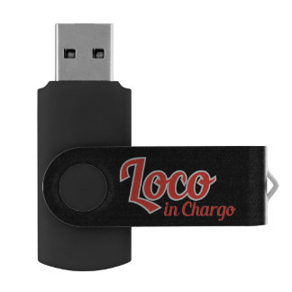 Loco in Chargo Bold USB Flash Drive