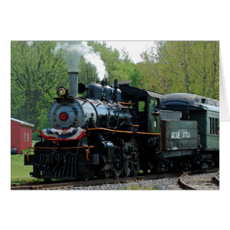 Locomotive 18 Card