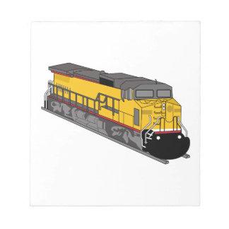 Locomotive 1 notepad