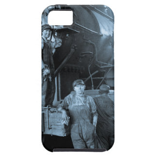 Locomotive Ladies Roundhouse Rosies World War I iPhone 5 Cover