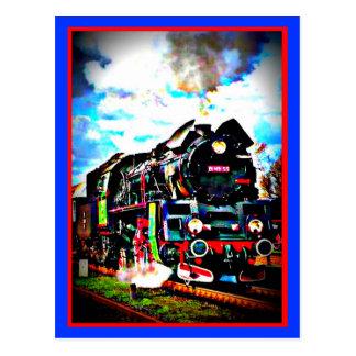 Locomotive Post Card