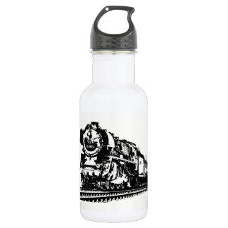 Locomotive Silhouette 532 Ml Water Bottle