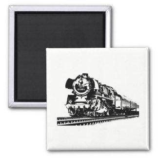 Locomotive Silhouette Magnet
