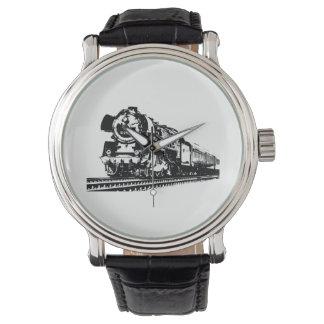 Locomotive Silhouette Watch
