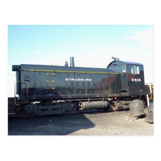 Locomotive. Strasburg Railroad Postcard