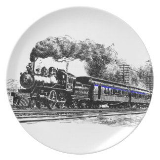 Locomotive & Train Plate