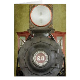 Locomotive Works Greeting Card