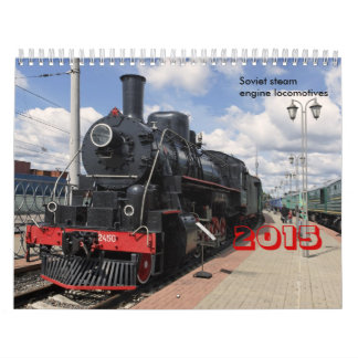 Locomotives Calendars