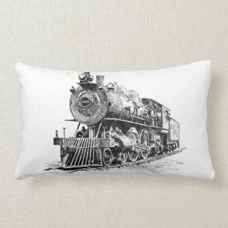 Locomotives Lumbar Cushion