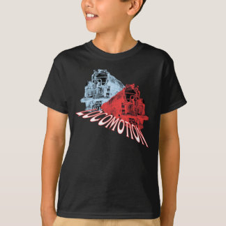 Locomotives steam trains Locomotion T-Shirt
