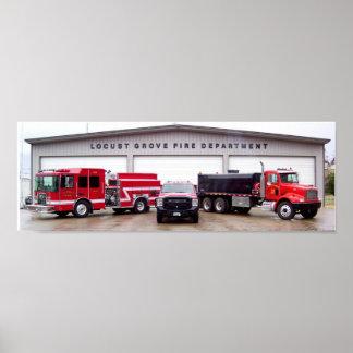 Locust Grove Fire Department Poster
