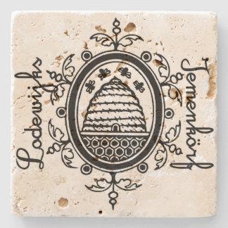 Lodewijks Iemenkörf mat Stone Coaster
