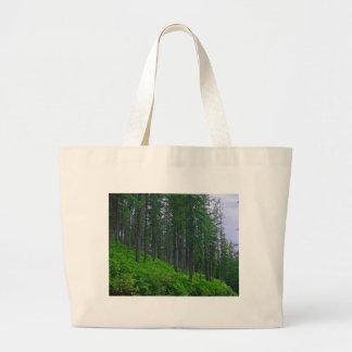 Lodge pole forest jumbo tote bag