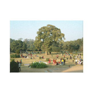 Lodhi Gardens; Delhi, India Canvas Print
