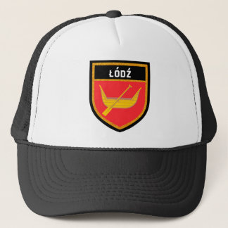 Łódź Flag Trucker Hat