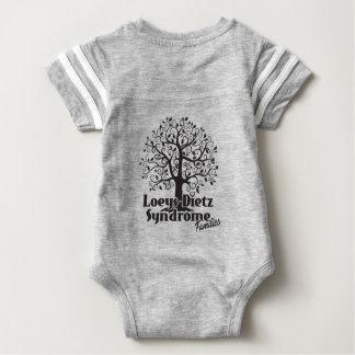 Loeys-Dietz Infant Take Heart Onsie Baby Bodysuit