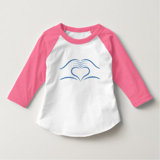Loeys-Dietz Toddler Take Heart Raglan Shirt