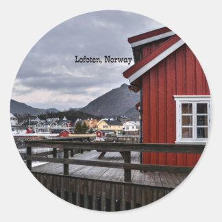 Lofoten, Norway Classic Round Sticker