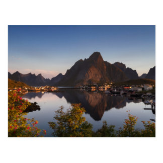 Lofoten - Village of Reine postcard no text