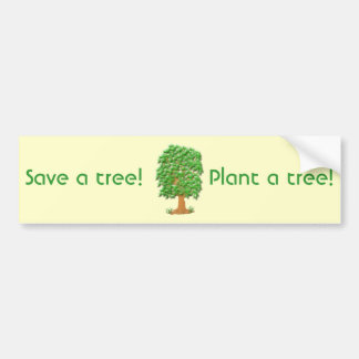 Lofty Tree Bumper Sticker