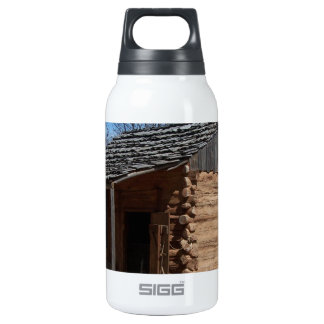 Log Cabin 0.3L Insulated SIGG Thermos Water Bottle