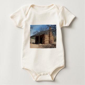 Log Cabin Baby Bodysuit