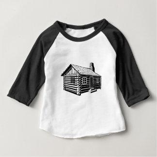 Log Cabin Baby T-Shirt