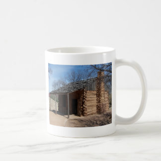 Log Cabin Basic White Mug