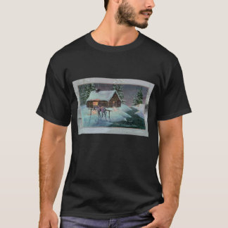 LOG CABIN by SHARON SHARPE T-Shirt