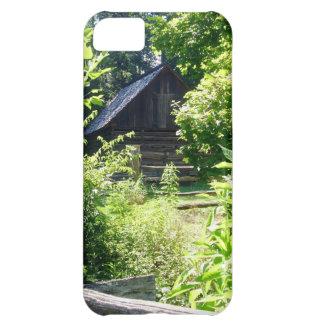 log cabin iPhone 5C case