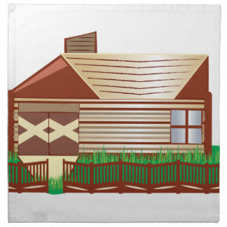 Log Cabin Napkins