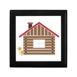Log Cabin Jewelry Boxes