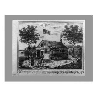 Log Cabin & Hard Cider postcard