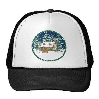 Log Cabin Hats