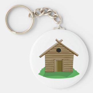 Log Cabin Key Chains