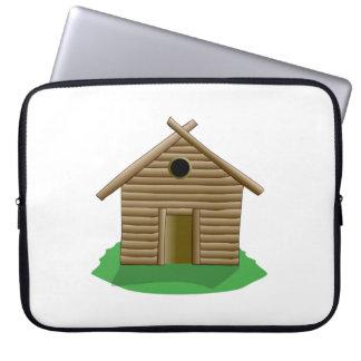 Log Cabin Laptop Sleeves