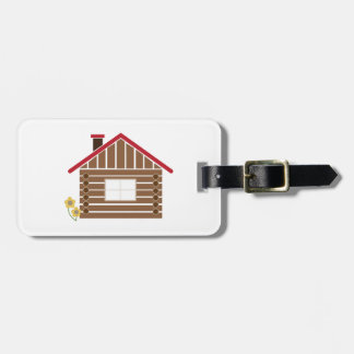 Log Cabin Tags For Bags