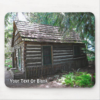 Log Cabin Mousepad